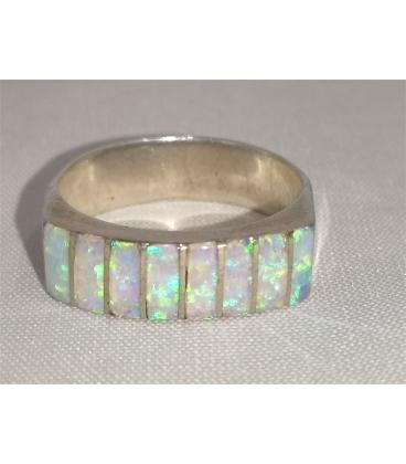Bague opale d'Australie
