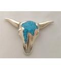 Pendentif Buffalo Skull