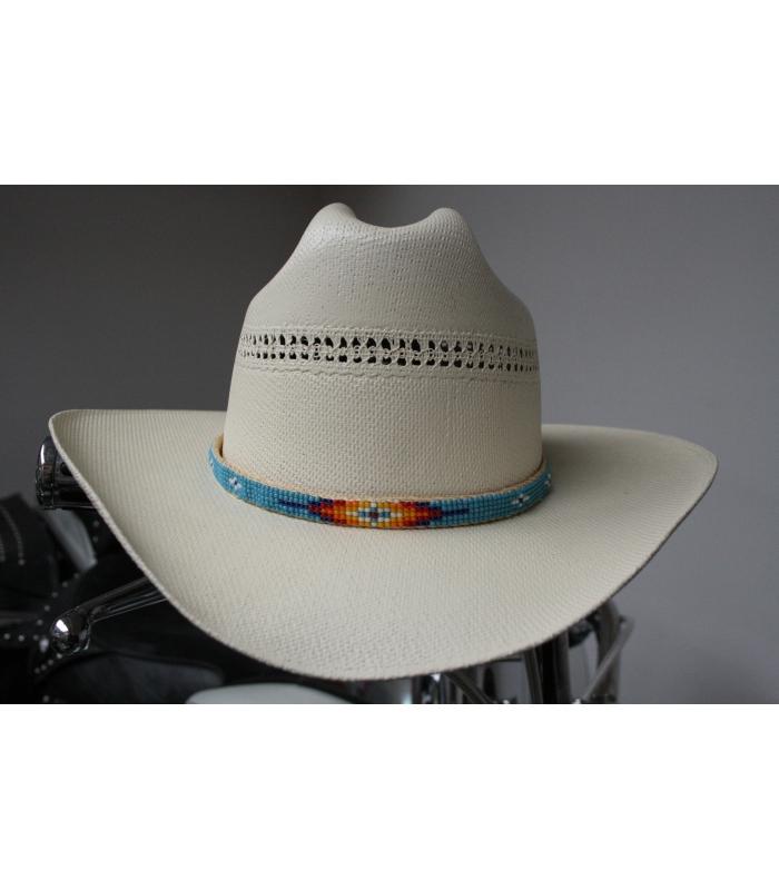top design meilleur fournisseur haut fonctionnaire Tour de chapeau turquoise