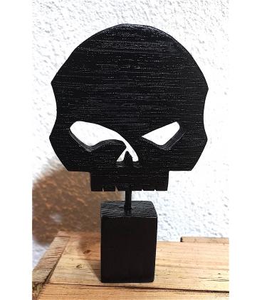 Skull en bois