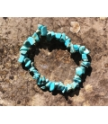 Bracelet perles ships turquoise