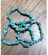 Bracelet ships turquoises vertes
