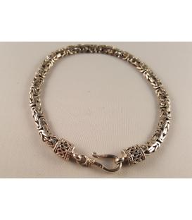 Bracelet snake plat