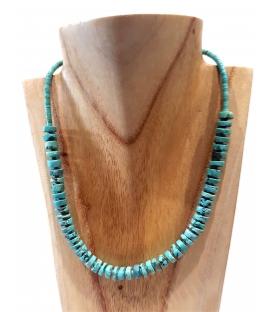 Collier multi turquoises