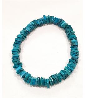 Bracelet multi turquoises