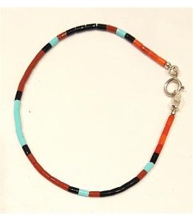 Bracelet fin multi perles