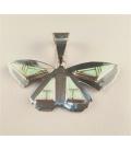 Pendentif papillon en Opale