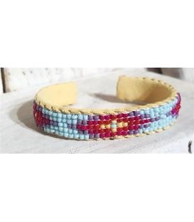 Bracelet perlé amerindien