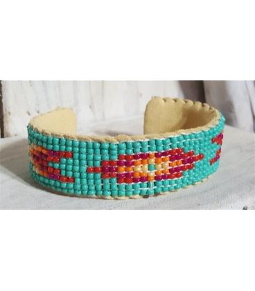 Bracelet perlé amérindien